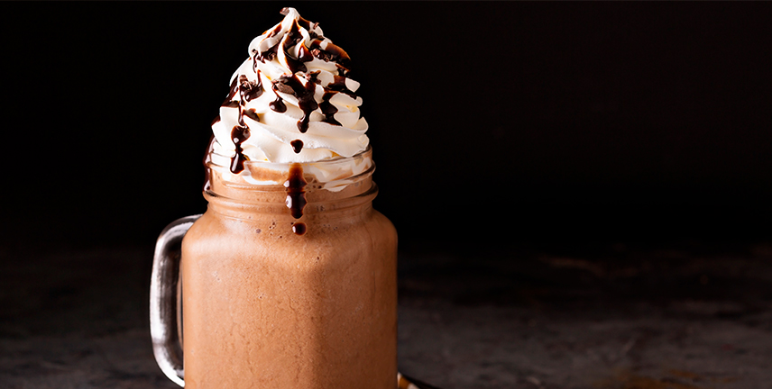 frappeado de chocolate