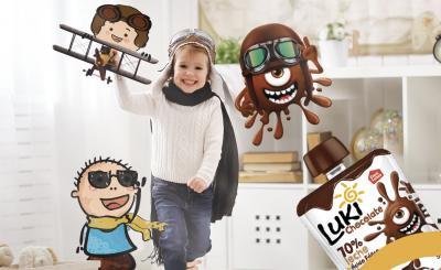 luki chocolate - snacks